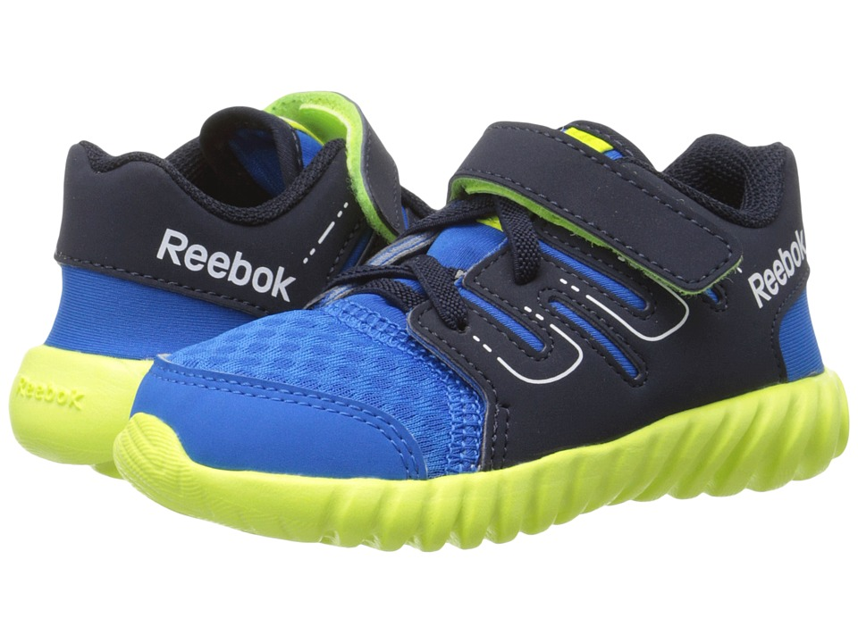 Reebok Kids - Twistform ALT (Toddler) (Cycle Blue/Faux Indigo/Semi Solar Yellow/White) Boys Shoes
