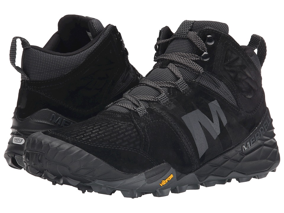 Merrell - Terra Turf Mid (Black) Men's Hiking Boots