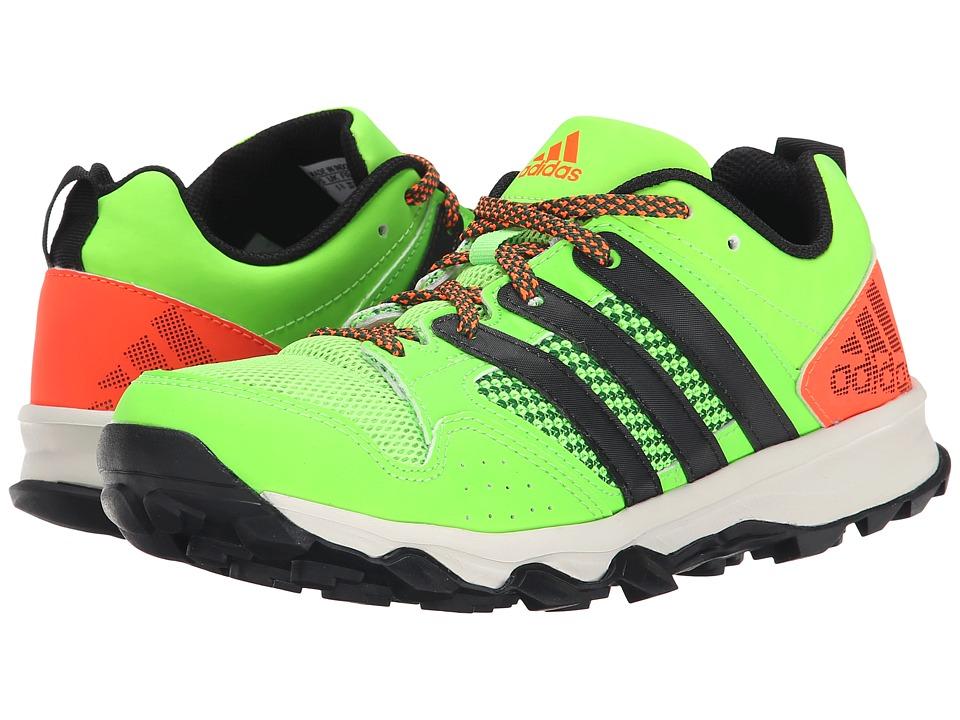 adidas Kids - Kanadia 7 TR K (Little Kid/Big Kid) (Black/Red) Boys Shoes