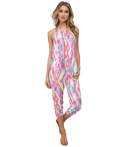 Seafolly - Prismatic Jumpsuit Cover-Up (Pastel) Women