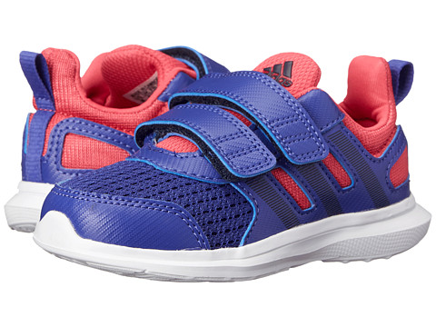 adidas Kids - Hyperfast 2.0 CF I (Toddler) (Semi Night Fashion/Collegiate Navy/Super Pink) Girls Shoes