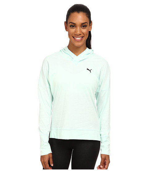 PUMA - Lightweight Pullover Top (Fair Aqua) Women