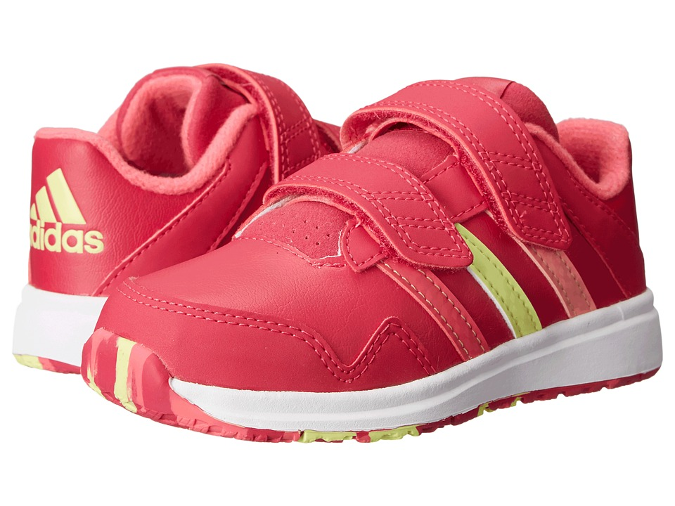 adidas Kids - Snice 4 CF I (Toddler) (Bold Pink/Super Pink) Girls Shoes