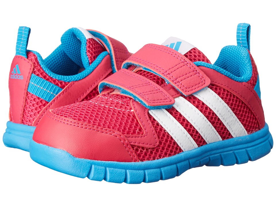 adidas Kids - STA Fluid 3 CF I (Toddler) (Bold Pink/White/Solar Blue) Girls Shoes