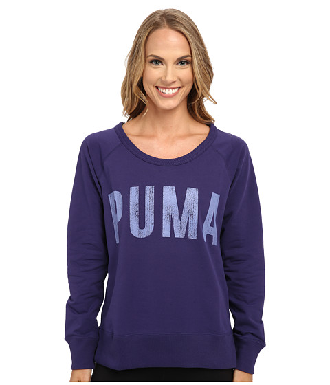 PUMA - Sweat Crew (Astral Aura) Women's Long Sleeve Pullover