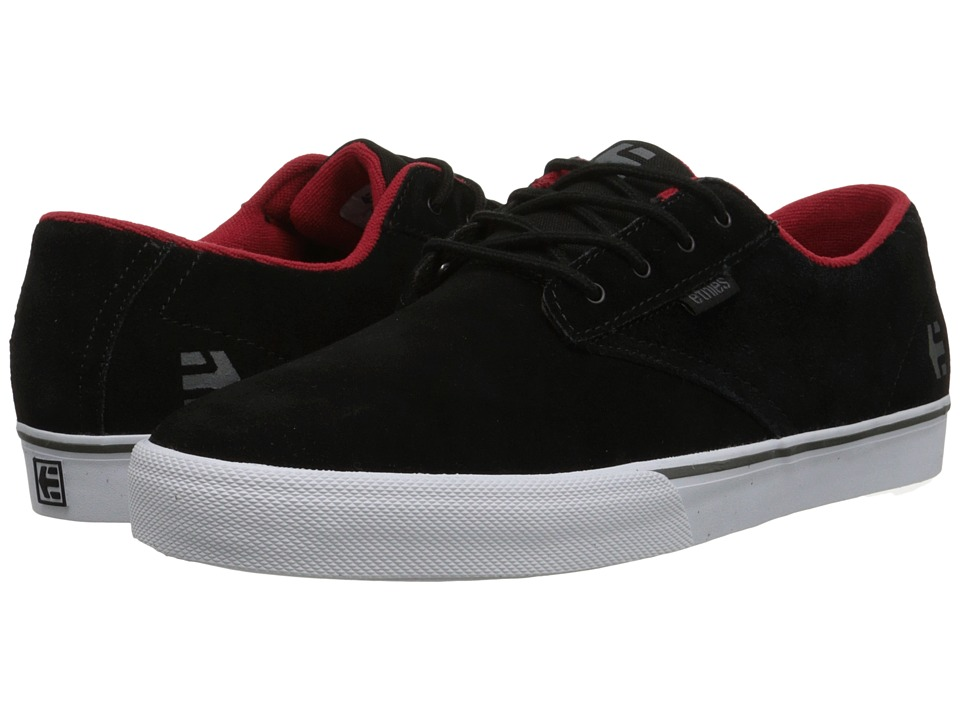 etnies Jameson Vulc Black Mens Skate Shoes