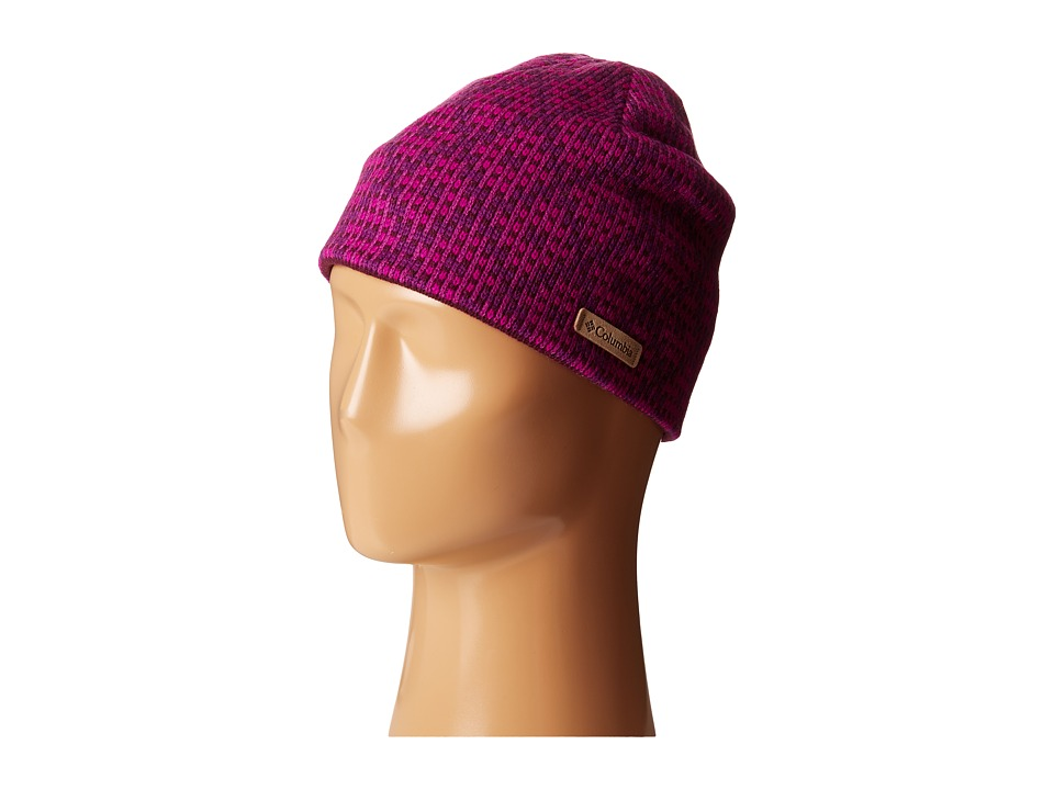 Columbia - Winter Worn Beanie (Plum Diamond Print) Beanies