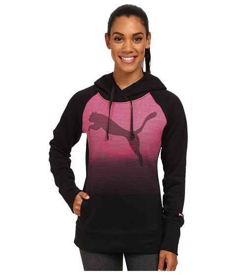 PUMA - Boyfriend Fleece Hoodie (Black) Women's Sweatshirt