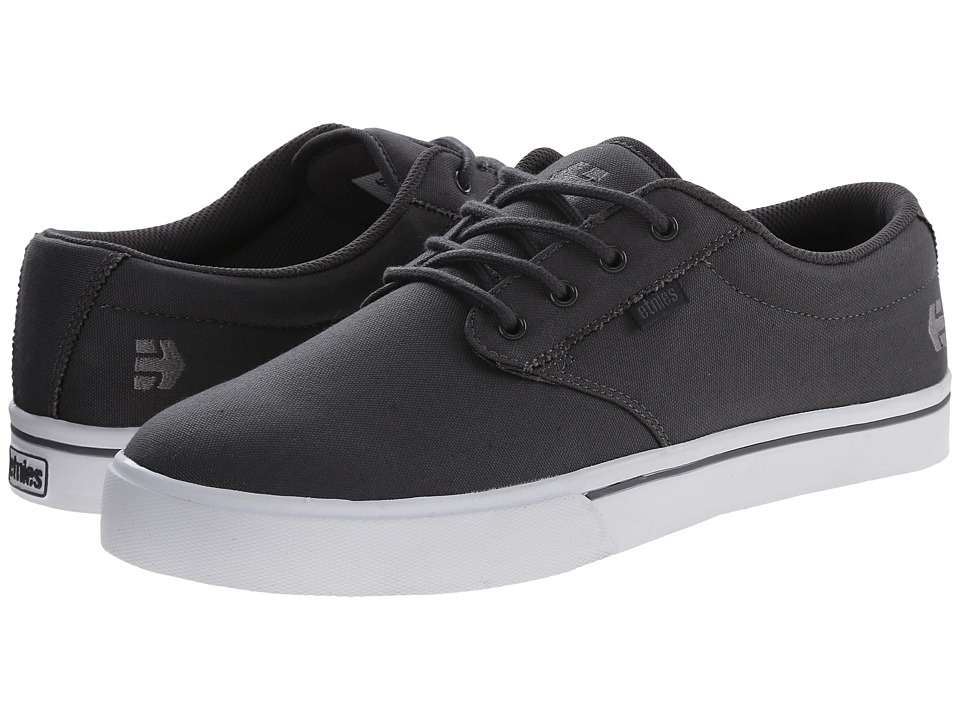 etnies - Jameson 2 Eco (Grey/White) Men's Skate Shoes