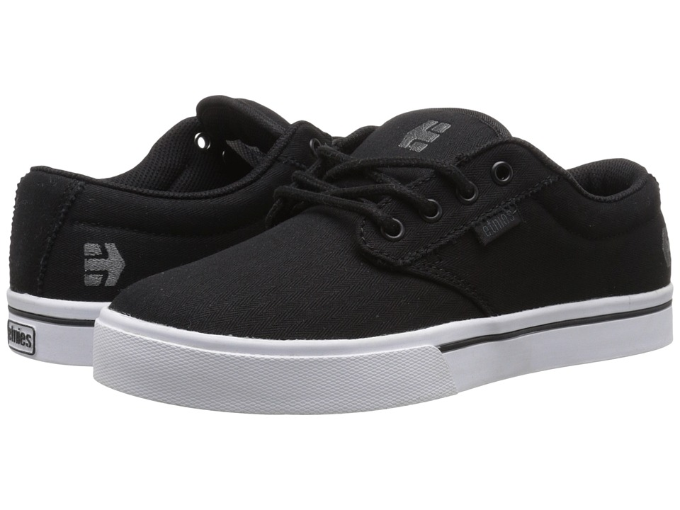 etnies - Jameson 2 Eco (Black/White/Gum) Men's Skate Shoes