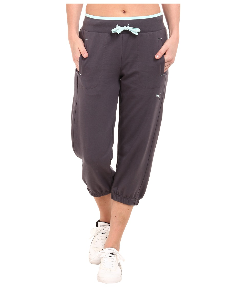 PUMA - Sweat Capri (Periscope) Women's Capri
