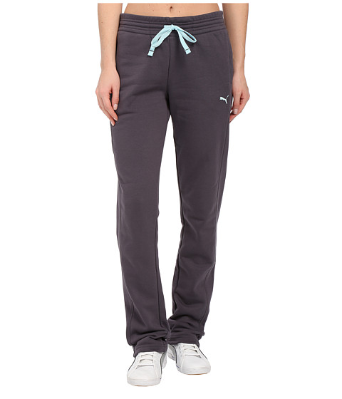 PUMA - Open Terry Sweatpant (Periscope) Women's Casual Pants