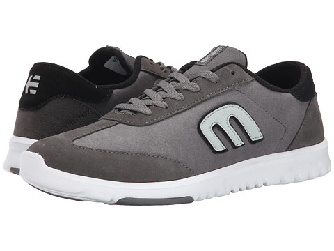 etnies - Lo-Cut SC (Grey/Black/White) Men's Skate Shoes