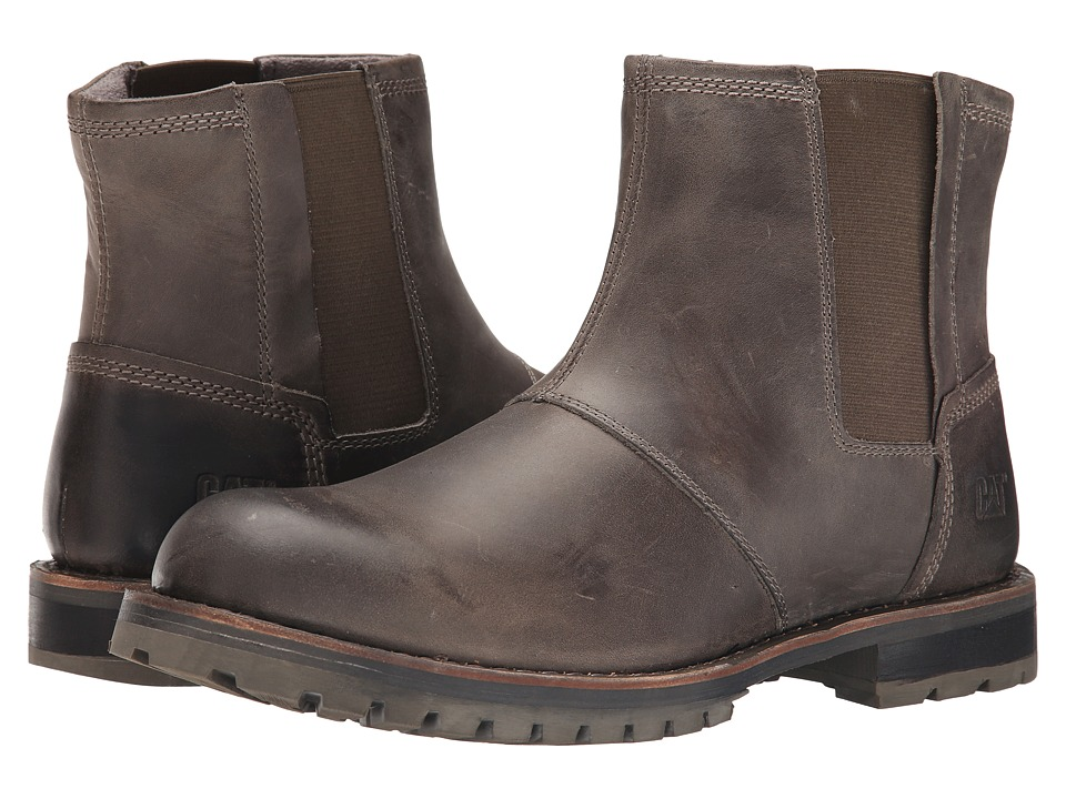 Caterpillar - Staten (Stone) Men's Work Boots