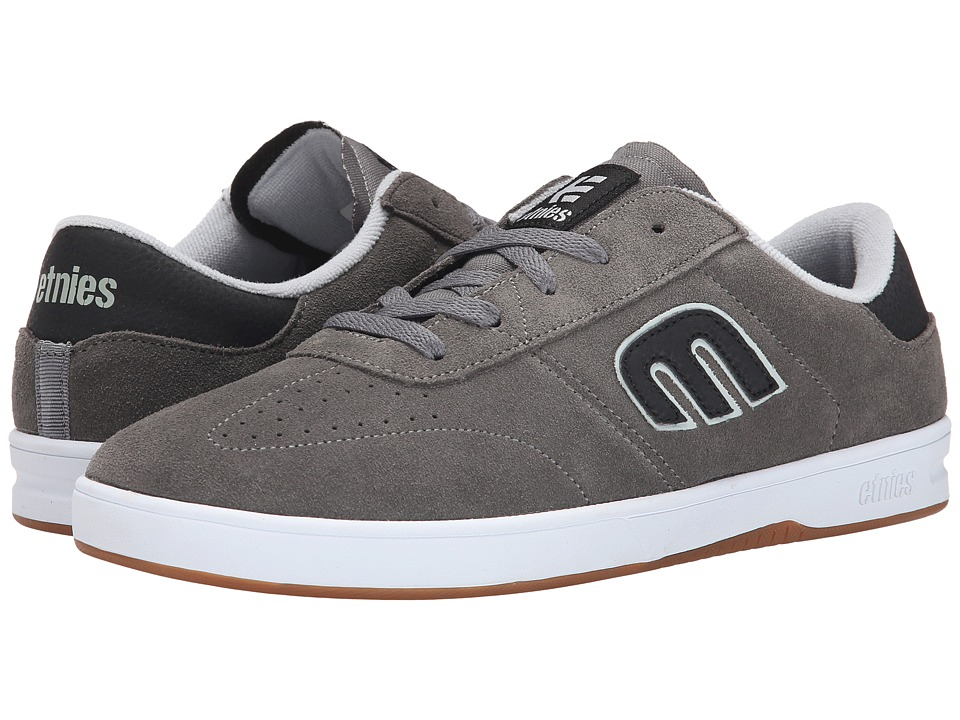 etnies - Lo-Cut (Grey/Black) Men