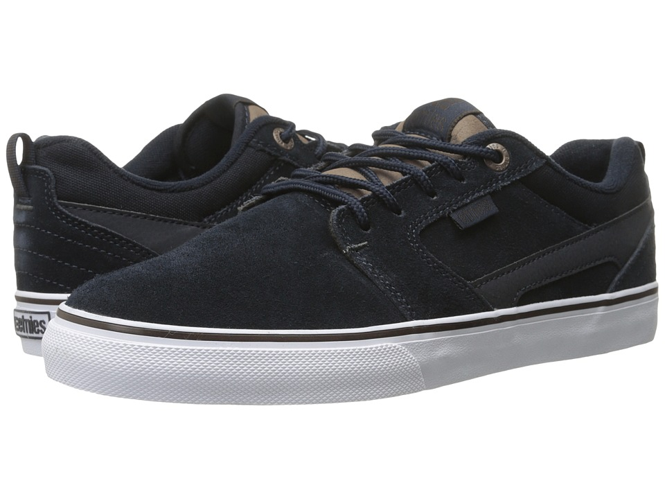 etnies - Rap CT (Navy/Brown/White) Men's Skate Shoes