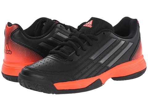 adidas Kids - Sonic Attack K (Little Kid/Big Kid) (Black/Night Metallic/Solar Red) Boys Shoes