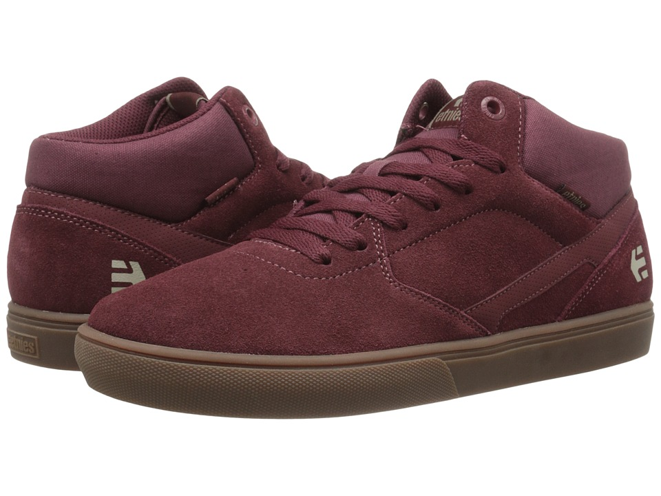 etnies - Rap CM (Burgundy/Gum) Men's Skate Shoes