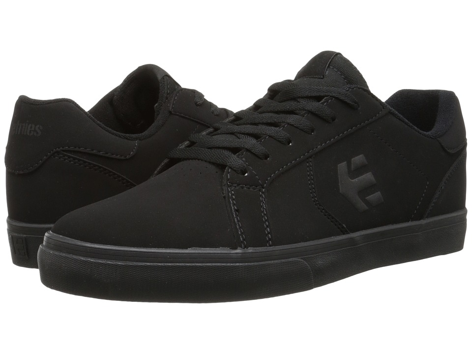 etnies - Fader LS Vulc (Black/Black/Black) Men's Skate Shoes