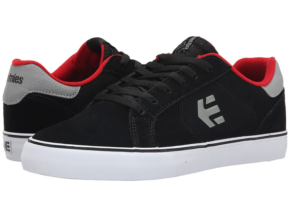etnies - Fader LS Vulc (Black/White/Gum) Men's Skate Shoes