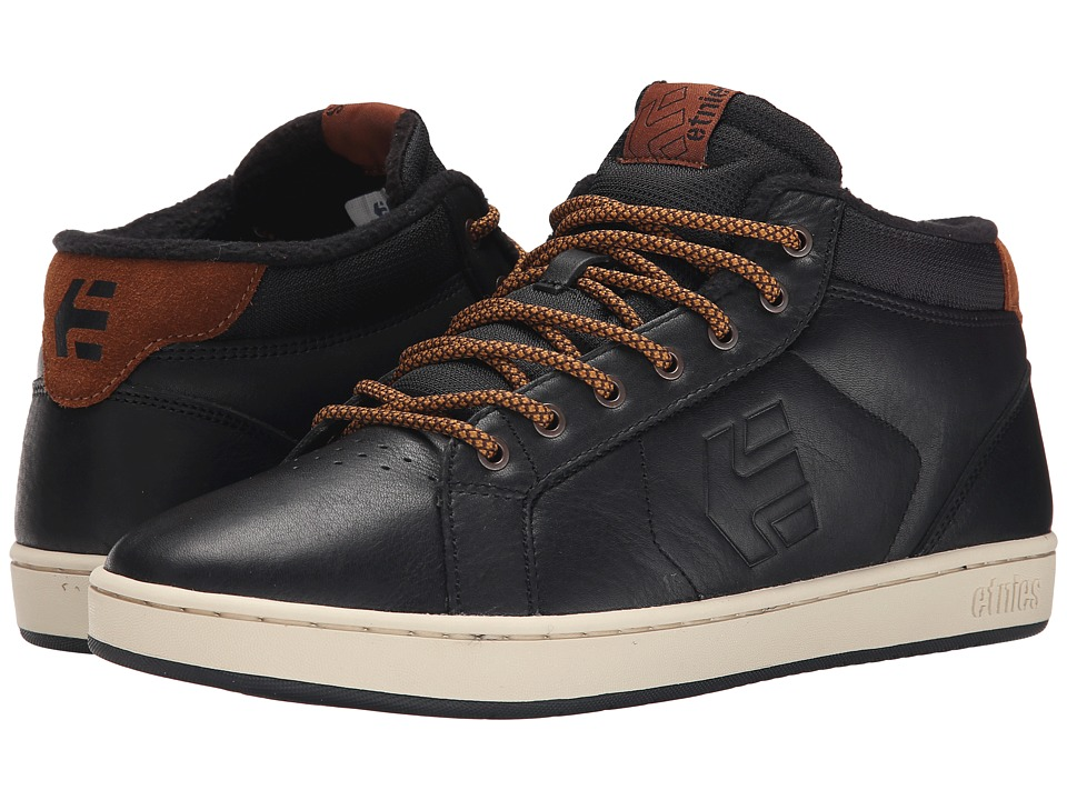 etnies - Fader MT (Black) Men's Skate Shoes