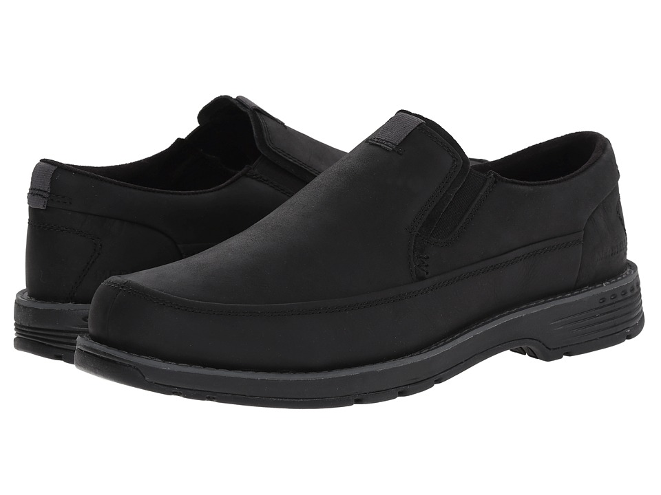Merrell - Realm Haza Moc (Black) Men's Slip on Shoes