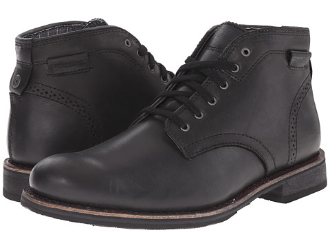Caterpillar - Caine Mid (Black) Men's Lace-up Boots