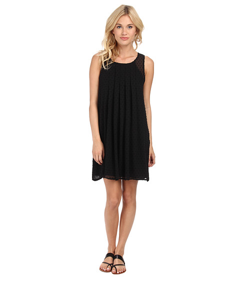 Sam Edelman - Dress w/ Pleat Detail (Black) Women's Dress