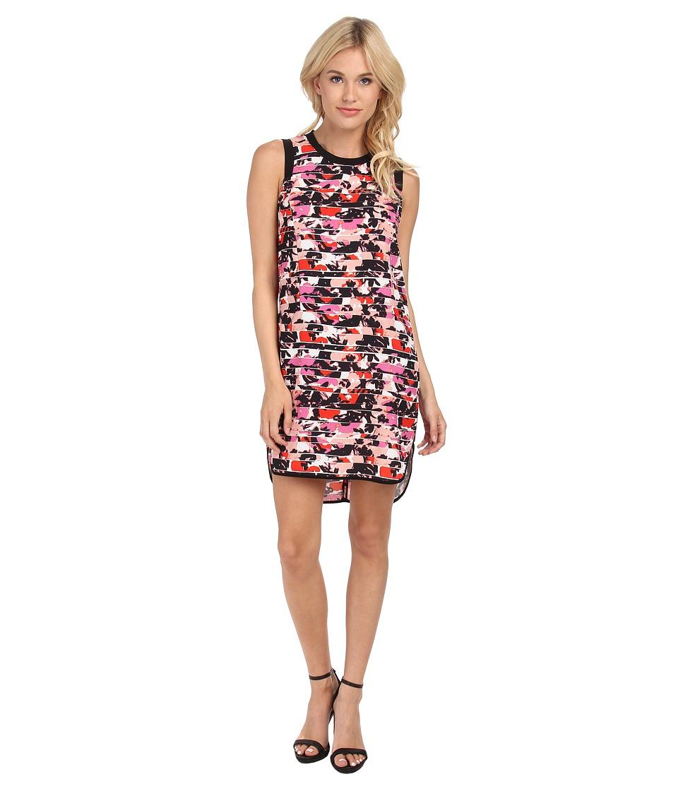 Sam Edelman Color Blocked Hi-Lo Tank Dress (Multi) Women