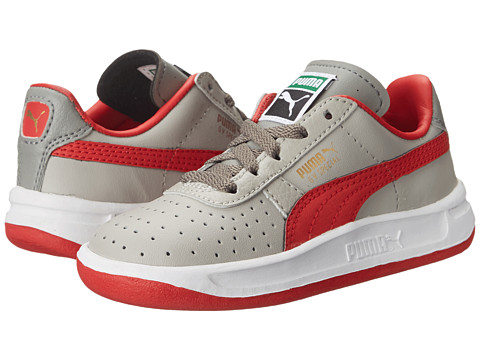 Puma Kids - GV Special (Toddler/Little Kid/Big Kid) (Drizzle/High Risk Red/Steel Gray) Boys Shoes