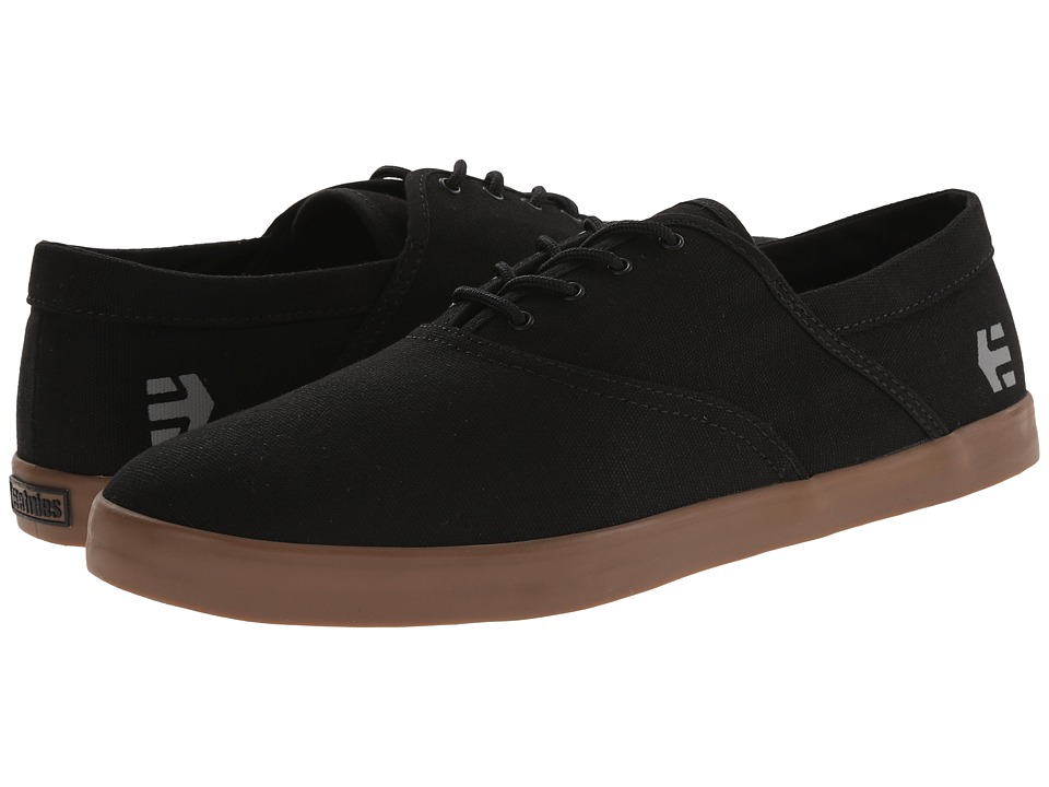 etnies - Corby (Black/Gum) Men's Skate Shoes