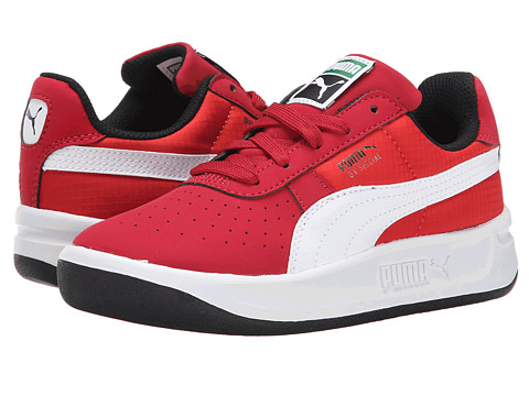Puma Kids - GV Special Nubuck/Ripstop (Little Kid/Big Kid) (Rio Red/White/High Risk Red) Boys Shoes