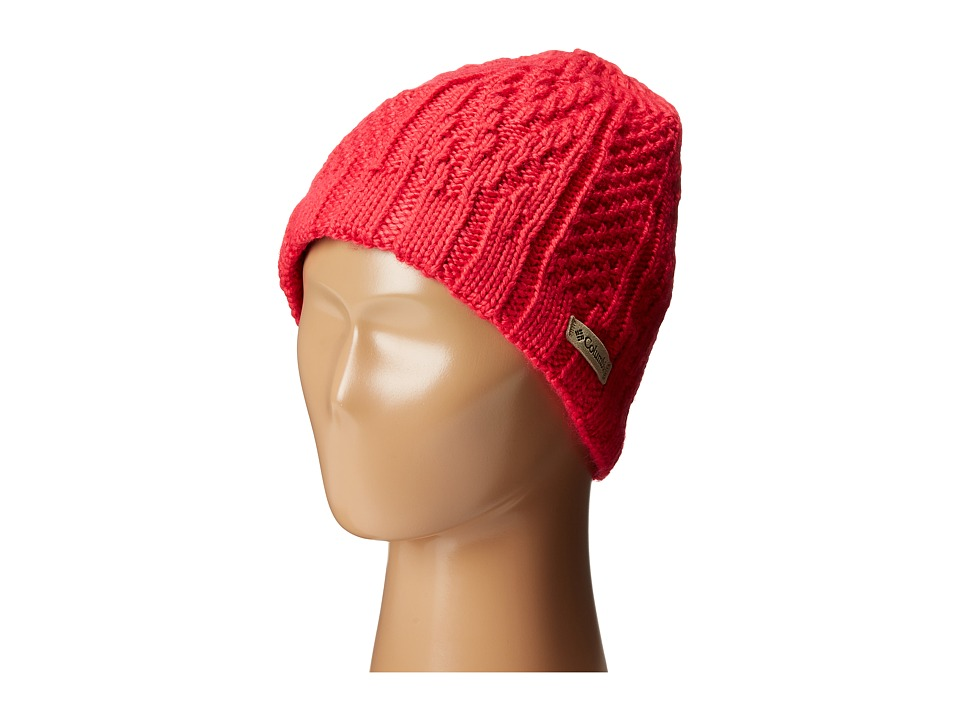 Columbia - Parallel Peak II Beanie (Ruby Red) Beanies