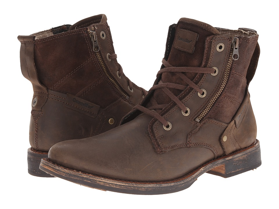 Caterpillar - Delve (Bitter Chocolate) Men's Zip Boots