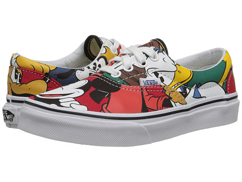 Vans Kids - Disney Era (Little Kid/Big Kid) ((Disney) Mickey & Friends/Multi) Kids Shoes