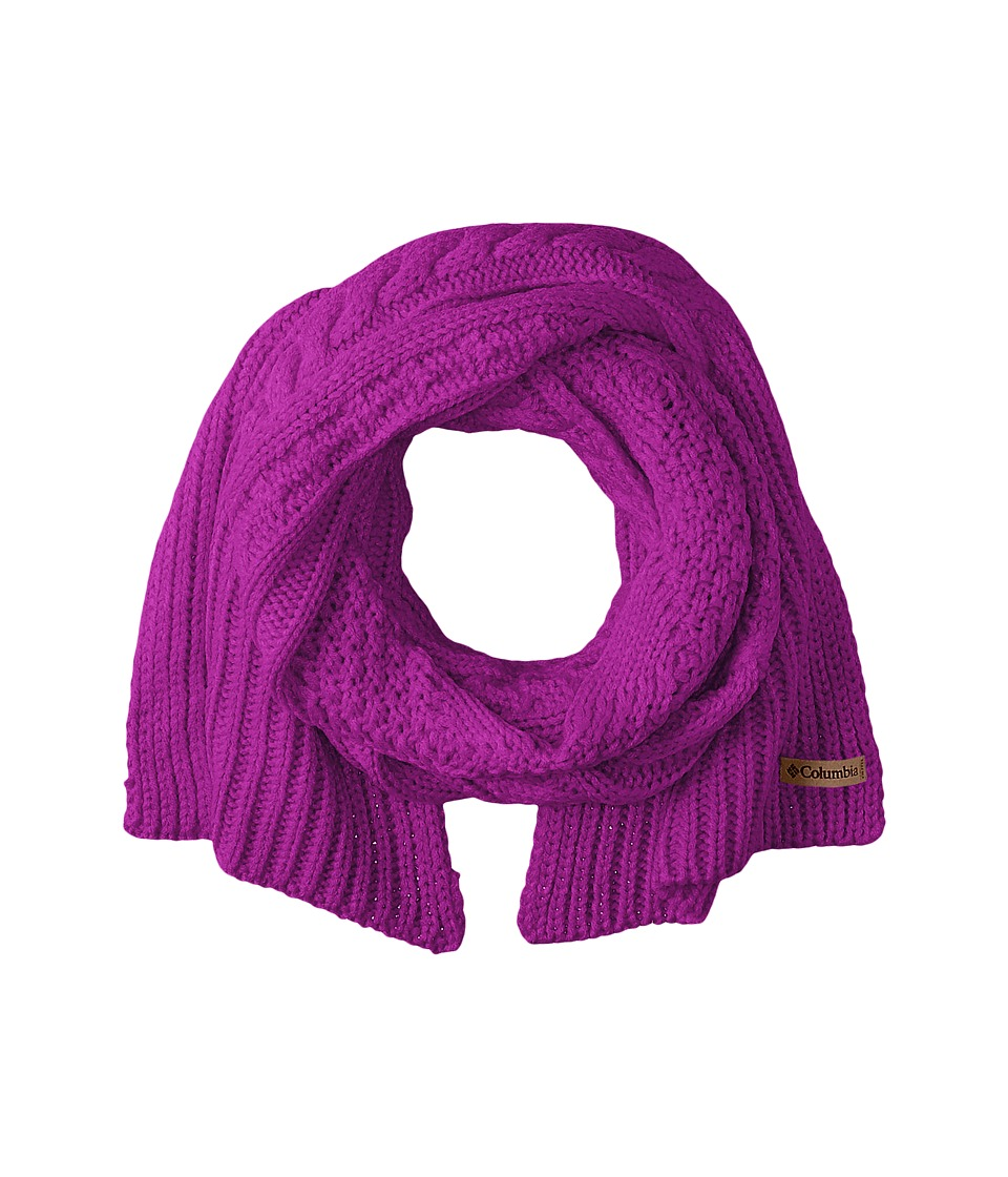 Columbia - Cabled Cutie Scarf (Bright Plum) Scarves