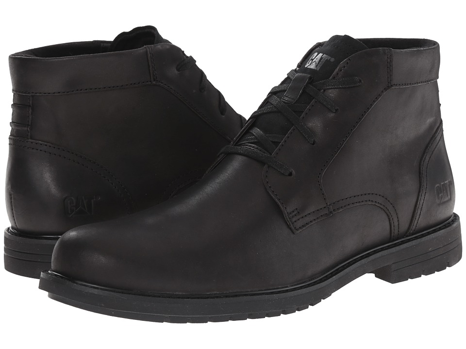 Caterpillar - Brock (Black) Men's Lace-up Boots