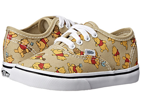 Vans Kids - Disney Authentic (Toddler) ((Disney) Winnie The Pooh/Light Khaki) Kids Shoes