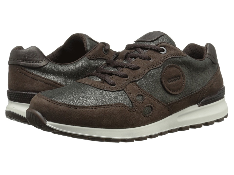 ECCO - CS14 Casual Sneaker (Mocha/Dark Shadow/Coffee) Women's Lace up casual Shoes