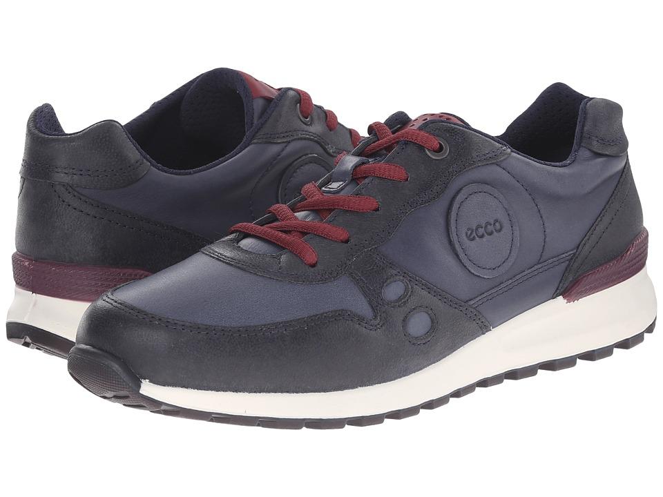ECCO - CS14 Casual Sneaker (Marine/Marine/Morillo) Women