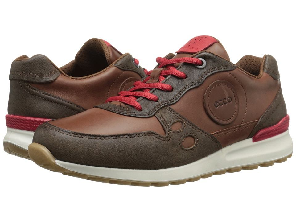 ECCO - CS14 Casual Sneaker (Cocoa Brown/Mahogany/Tomato) Women's Lace up casual Shoes