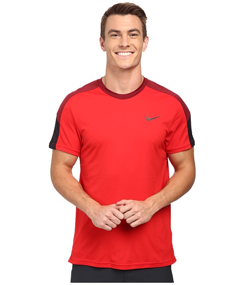 Nike - Team Court Crew (University Red/Team Red/Black/Black) Men