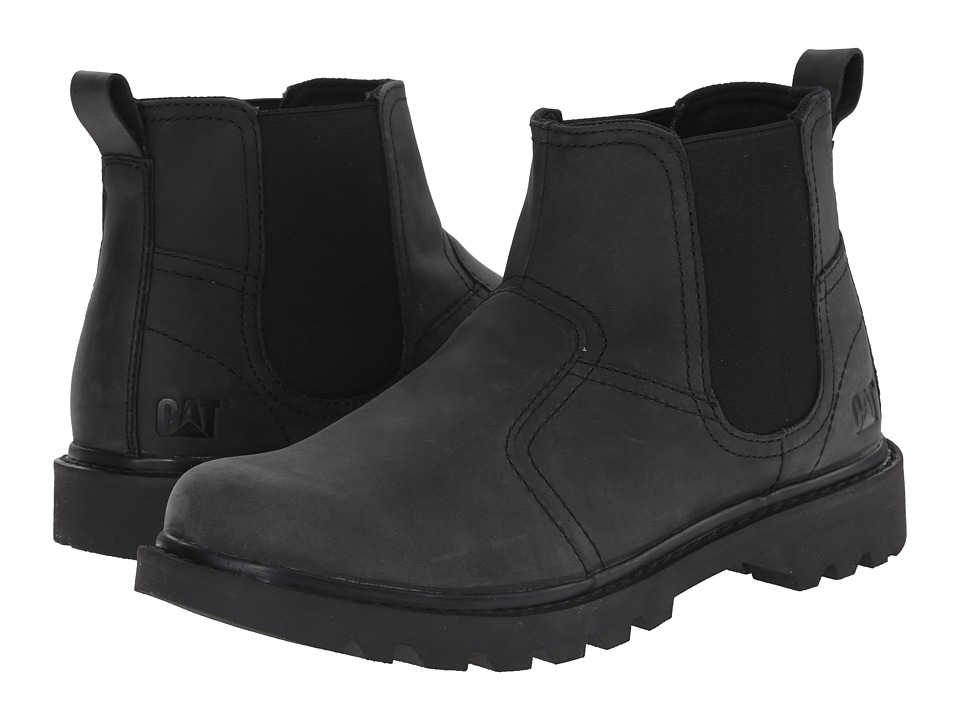 Caterpillar - Thornberry (Black) Men's Pull-on Boots