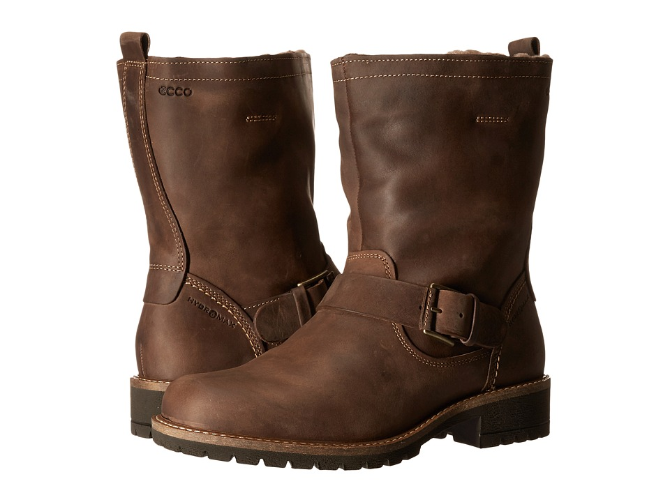 ECCO - Elaine Buckle Boot (Cocoa Brown) Women's Boots