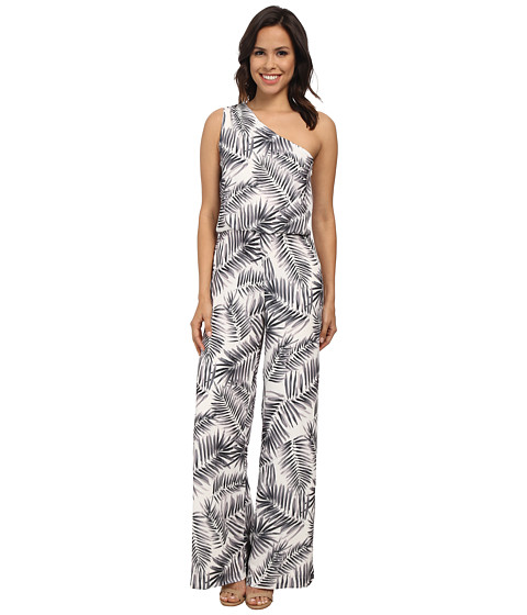Sam Edelman - One Shoulder Jumper (Black) Women's Jumpsuit & Rompers One Piece