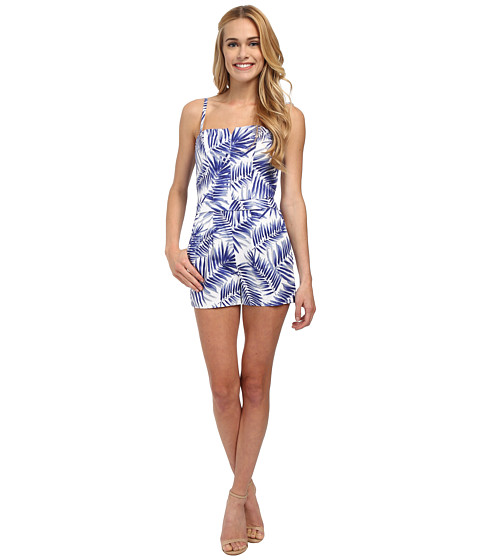 Sam Edelman - Strapy Romper (Cobalt) Women's Jumpsuit & Rompers One Piece