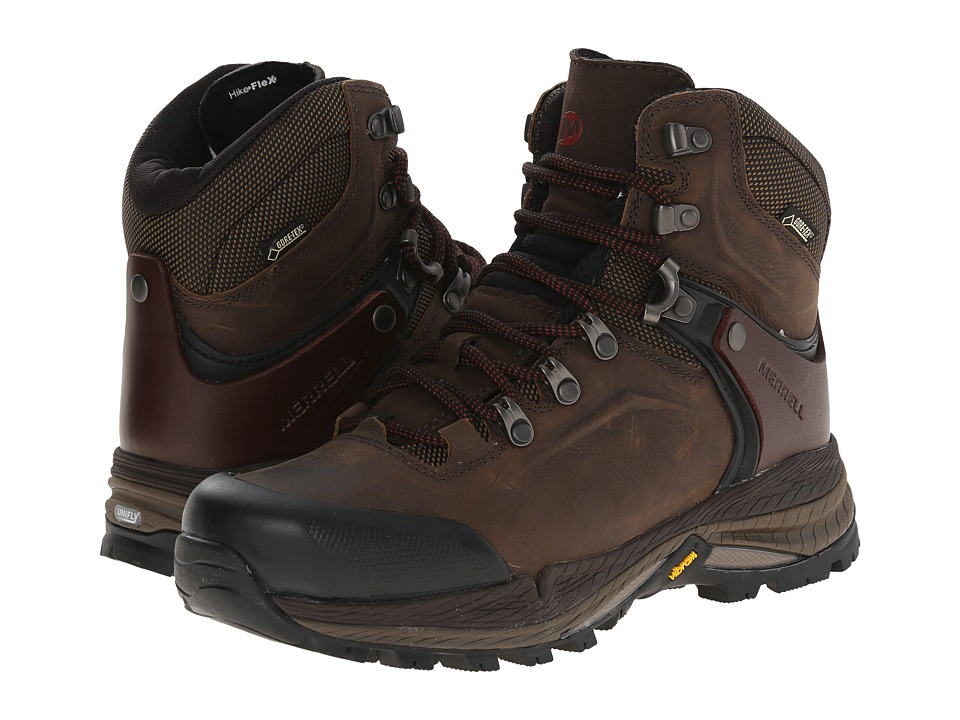 Merrell - Crestbound GORE-TEX (Clay) Women's Hiking Boots