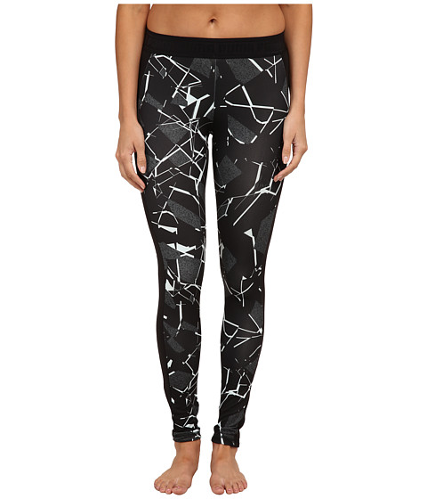 PUMA - Printed Leggings (Black) Women's Casual Pants