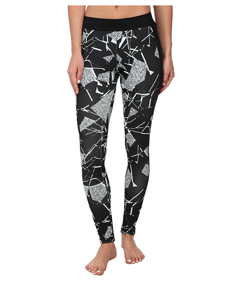 PUMA - Printed Leggings (Fair Aqua/Black) Women's Casual Pants
