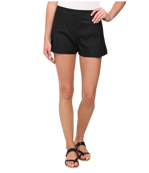 Sam Edelman - Pleated Shorts (Black) Women's Shorts